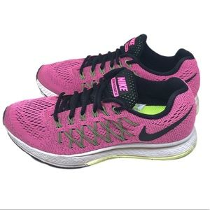 Nike Air Zoom Pegasus 32 Pink Row Running Sneakers